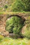 在Hunot峡谷的brige 免版税图库摄影