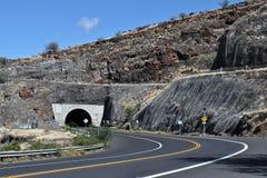在Hwy 30的隧道 图库摄影