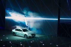 在IAA汽车的BMW展示 免版税库存照片