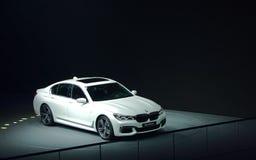 在IAA汽车的BMW展示 库存照片