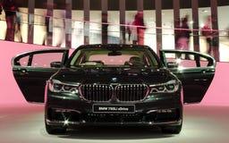 在IAA汽车的BMW 免版税图库摄影