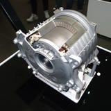 在IAA汽车的BMW i8电动机 免版税库存图片