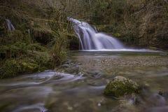 在Irus的瀑布春天 免版税库存照片