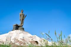 在isan菩萨的monthon的菩萨雕象 免版税库存照片