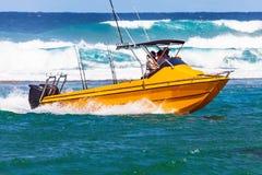 在iSimangaliso沼泽地公园南非的深海捕鱼 免版税库存图片