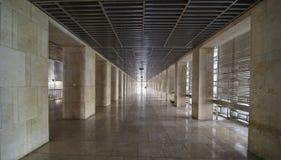 在Istiqlal清真寺的美丽的走廊 库存图片