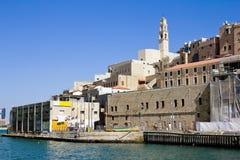 在Jaffa的端口在以色列 免版税库存图片