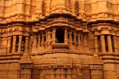 在Jaisalmer堡垒里面的细节 免版税库存照片