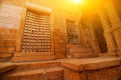 在jaisalmer里面的堡垒 库存照片