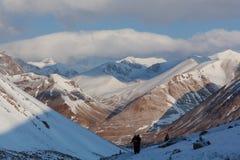 在Kailash,西藏附近的Kora 免版税图库摄影