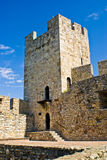 在Kalemegdan堡垒,贝尔格莱德里面的塔 库存图片