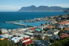 在Kalk海湾,南非的小口岸 免版税库存图片