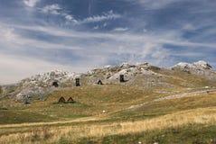 在Kapetanovo湖,黑山附近的里奇` Niksin kiljan ` 免版税图库摄影