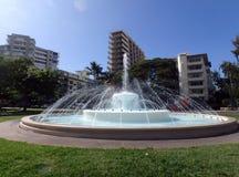 在Kapiolani公园的Dillingham喷泉 免版税图库摄影