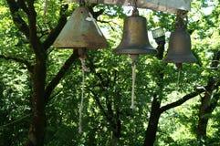 在Katskhi柱子的响铃 免版税库存图片