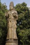 在Kelaniya寺庙,斯里兰卡的菩萨雕象 免版税库存图片