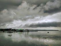 在kelong的风雨如磐的云彩 库存图片