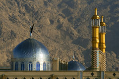 在Kermanshah的清真寺和研讨会 免版税库存照片