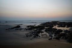 在Khao Lak潜逃Ru的Khao Lak海滩 图库摄影