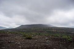 在Khibiny的山 免版税库存图片
