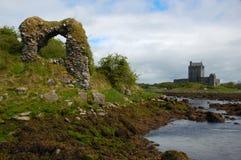在Kinvarra,爱尔兰附近的废墟 免版税库存图片