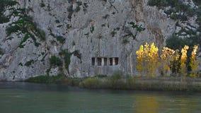 在Kizilirmak河边缘的古老罗马废墟 影视素材