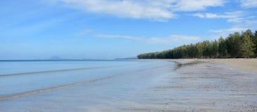 在Ko朗塔,泰国的海滩 免版税库存照片
