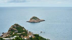 在Ko陶附近的小海岛 库存图片