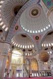 在kocatepe清真寺火鸡里面的安卡拉 免版税库存图片