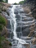 在Kodiakanal附近的瀑布 免版税图库摄影