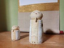 在koyasan的菩萨工艺品,日本 免版税库存图片