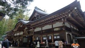 在Koyasan的Kongobuji寺庙 免版税库存图片