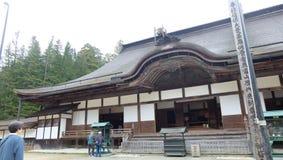 在Koyasan的Kongobuji寺庙 免版税图库摄影