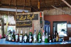 在KRABI泰国的室外酒吧 库存图片