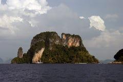 在Krabi泰国的Railay海滩 库存照片