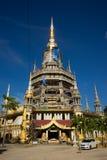 在krabi的寺庙 免版税库存照片
