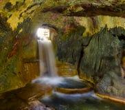 在Krka,克罗地亚的Watermills 库存图片