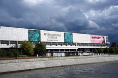 在Krymsky Val新的Tretyakovka的Treryakov画廊在莫斯科 免版税库存图片