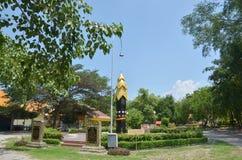 在Kuan尹相互宗教公园的中国建筑学 图库摄影