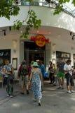 在Kurfuerstendamm的硬石餐厅 库存照片