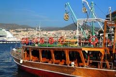 在Kusadasi港  免版税库存照片
