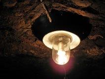 在Kutjevo葡萄酒库, 3,克罗地亚,欧洲的老灯 库存照片