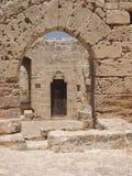 在kyrenia里面的城堡塞浦路斯 免版税库存图片