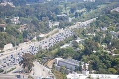 在LA的交通 免版税库存照片