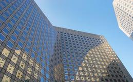 在la防御,巴黎的企业大厦 图库摄影