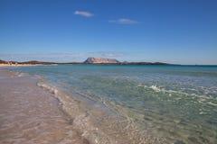 在La Cinta海滩  免版税图库摄影