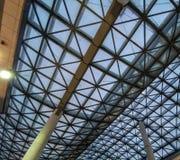 在la spezia的现代建筑学 免版税库存照片