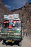 在ladakh旅行附近 免版税库存照片