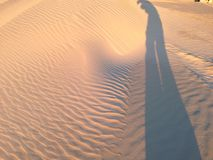 在lancelin珀斯澳大利亚的沙丘 免版税图库摄影