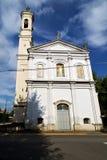 在legnano老教会封锁了边路意大利伦巴第 免版税库存照片